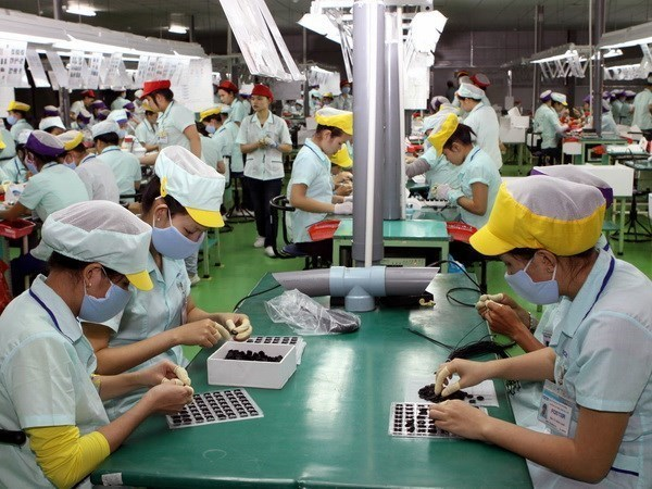 今年上半年隆安省工业生产总值增长7.5% hinh anh 1