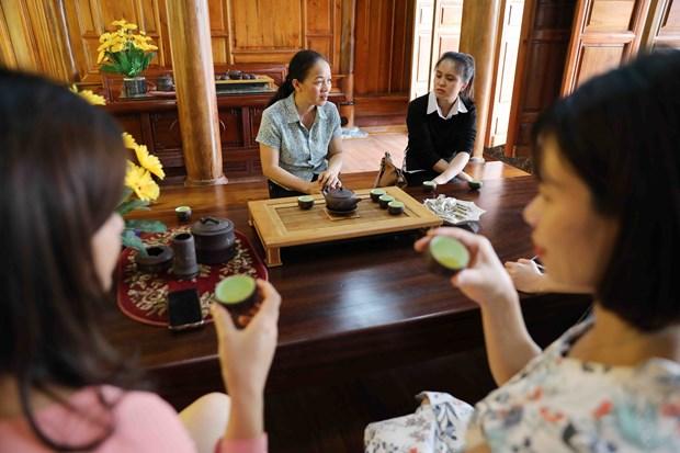新疆将社区旅游发展与茶叶文化空间相结合 hinh anh 2