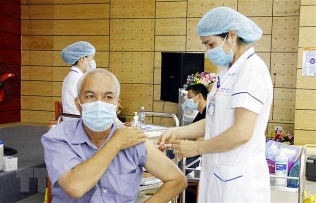 新冠肺炎疫情:越南即将开展史上最具规模的新冠疫苗接种计划 hinh anh 1