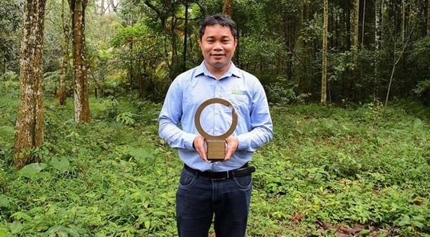 越南首家野生动物保护者荣获世界最具权威的环境保护奖 hinh anh 1