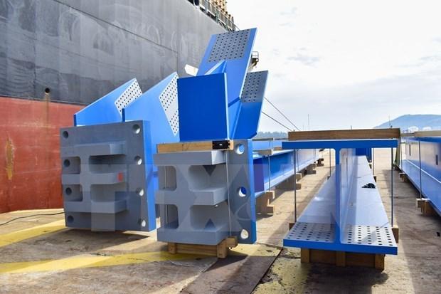 越南斗山重工业有限公司向印度尼西亚热电厂提供1560吨设备 hinh anh 1