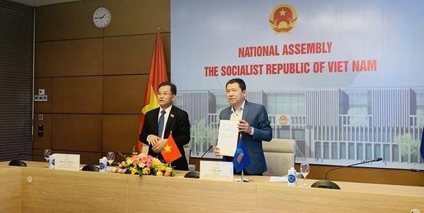 越南参加东盟议会联盟大会咨询小组第12次会议 hinh anh 1