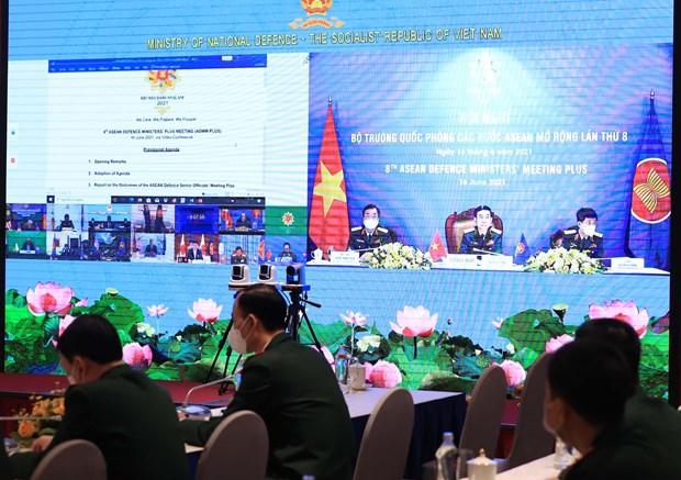 东盟与中国防长非正式会晤以视频形式举行 hinh anh 2