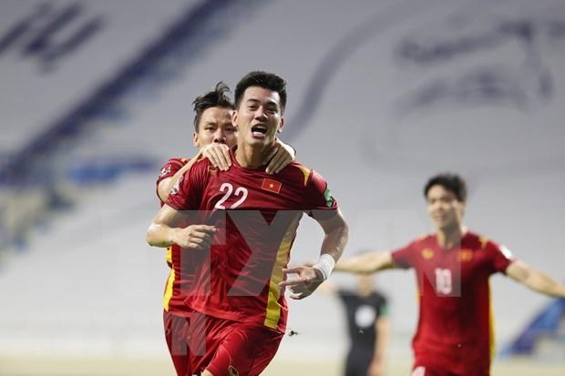 2022年世界杯预选赛:We Global Football评估越南进世界杯概率为4.44% hinh anh 1