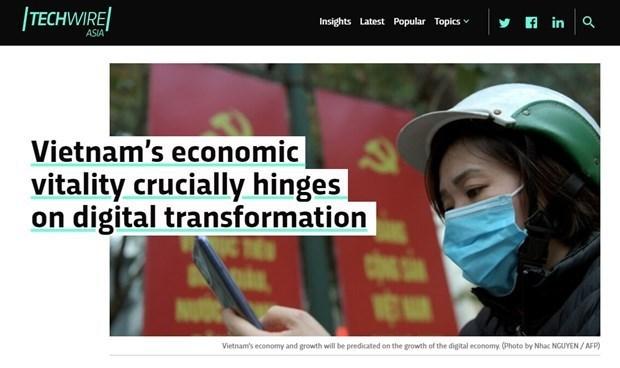 数字化转型:越南数字经济的增长为投资商带来更多机会 hinh anh 1