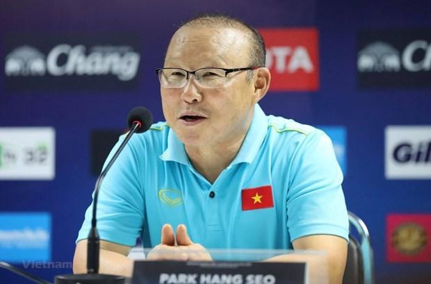 2022年世界杯亚洲区预选赛:韩国足协为主教练朴恒绪而感到骄傲 hinh anh 1