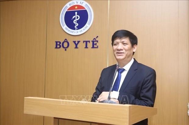 卫生部长阮青龙:将保障新冠疫苗接种安全置于首要位置 hinh anh 2