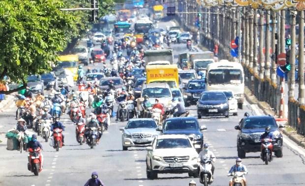 越南中部和北部特别炎热 局部气温超过40摄氏度 hinh anh 2