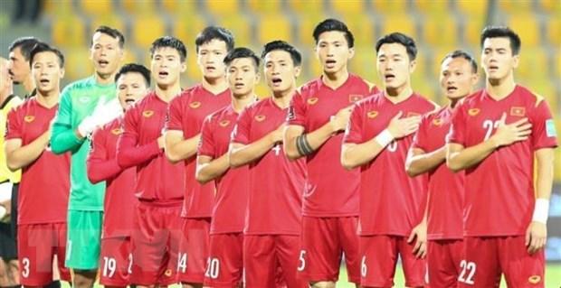 FIFA最新亚洲球队排名出炉:越南国足列入第6档 hinh anh 1