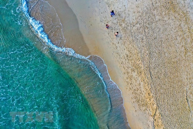 岘港市美溪海滩被列入亚洲25大最佳海滩榜单 hinh anh 1