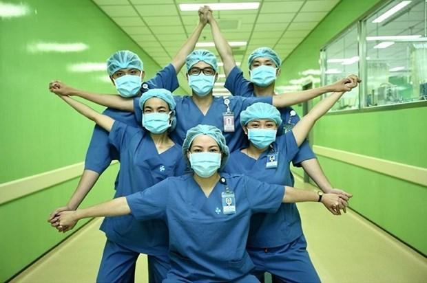 越南以独特的方式防控新冠肺炎疫情 hinh anh 1