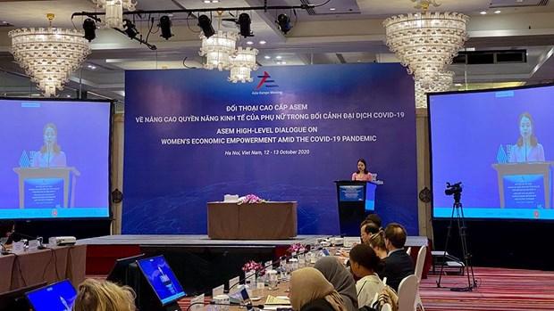 亚欧会议高级政策对话:新时期亚欧合作方向与远景 hinh anh 3