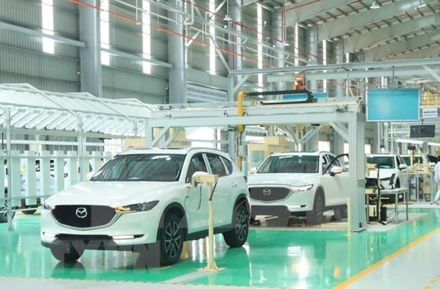 今年前5个月中国原装汽车涌入越南市场 hinh anh 1