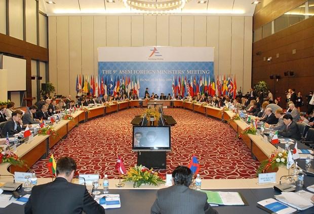 亚欧会议高级政策对话:新时期亚欧合作方向与远景 hinh anh 2