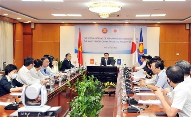 东盟对日本为去碳化项目提供100亿美元的资金支持表示欢迎 hinh anh 1