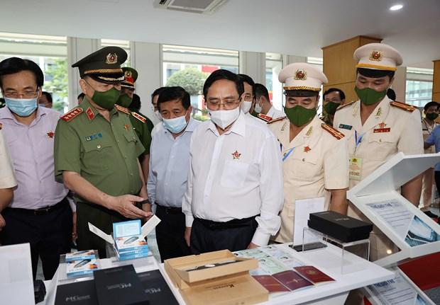范明政总理:人口数据库是国家治理创新的进展 hinh anh 2