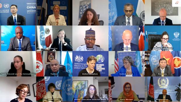 越南与联合国安理会:越南谴责针对阿富汗平民的袭击 hinh anh 1