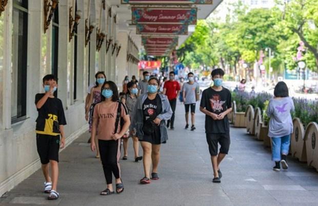 2021 年上半年河内市游客接待量为 290 万人次 hinh anh 1