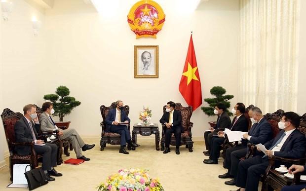 越南政府副总理范平明:越南愿为英国企业在越扩大投资范围创造一切便利条件 hinh anh 1