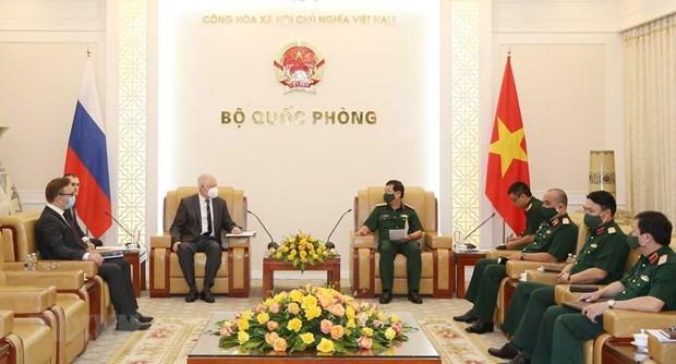 越南与俄罗斯加强军事技术合作 hinh anh 1