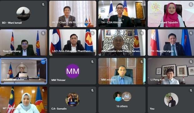 越南主持东盟一体化倡议专责小组会议 hinh anh 1