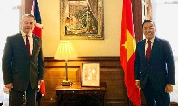 英国外交部亚洲事务国务大臣对越英关系的长足发展感到高兴 hinh anh 1