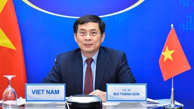 """越南外长裴青山出席""""一带一路""""亚太区域国际合作高级别会议 hinh anh 2"""