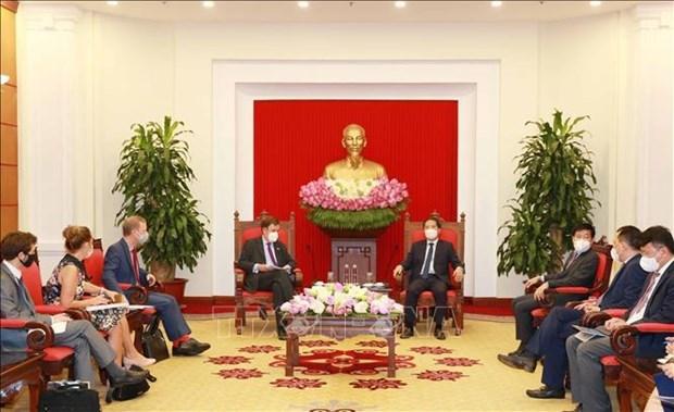 充分发挥越南与英国的合作潜力 hinh anh 1