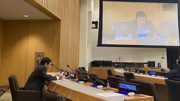 越南在1982年《联合国海洋法公约》缔约国会议上重申观点 hinh anh 1