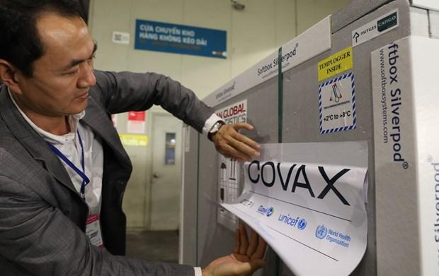 越南向COVAX追加50万美元捐款 hinh anh 1