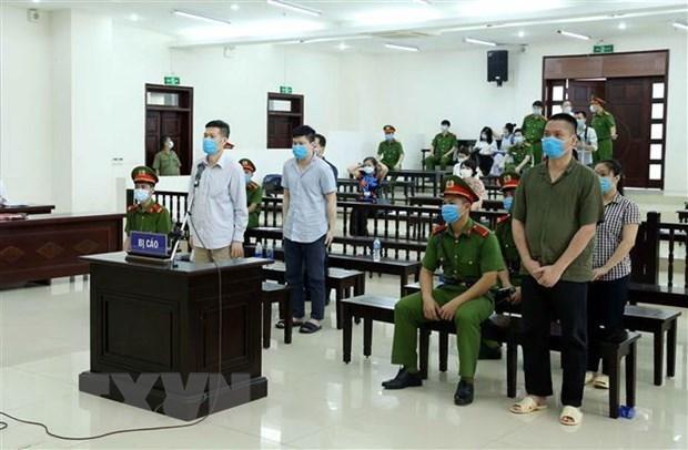 河内CDC串通投标案二审终结 维持一审对阮日感10年有期徒刑的判决 hinh anh 1