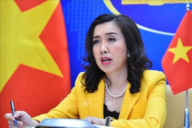 外交部例行记者会:越南祝贺中国共产党成立100周年 hinh anh 1