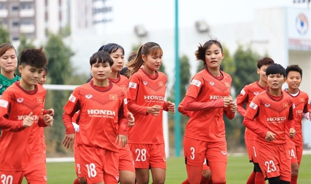 2022年女足亚洲杯预选赛:越南队与塔吉克斯坦、马尔代夫、阿富汗三队在同一组 hinh anh 1