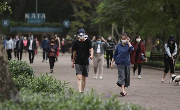 从6月26日零时起河内市恢复户外体育活动 hinh anh 1