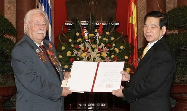 越南共产党向希腊共产党和阮文立同志家属致慰问信 hinh anh 1
