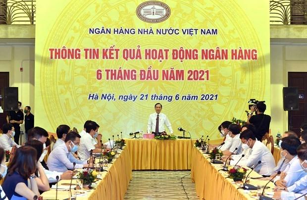 2021年上半年信贷增长5.1% hinh anh 1
