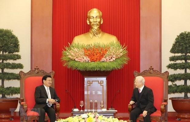 进一步促进越南与老挝贸易关系 hinh anh 1