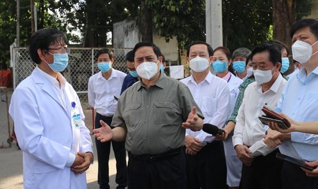 """范明政总理:积极主动采取灵活措施实现防疫情促发展""""双重目标"""" hinh anh 1"""