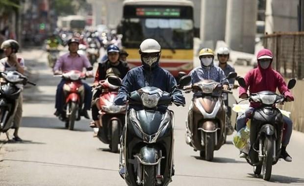 越南北部的炎热天气或将持续到7月3日至4日 hinh anh 1