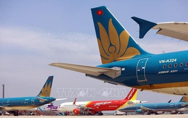 越南航空局:2021年底逐步恢复国际航班 hinh anh 1