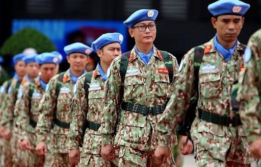 政府发布有关越南联合国维和行动指挥长的职责与权限的规定 hinh anh 1