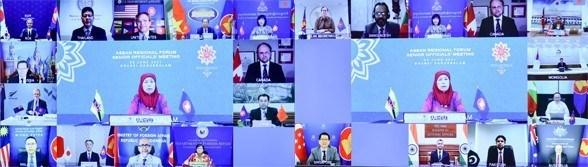 东盟地区论坛高官会:将防疫和疫情后复苏合作放在优先地位 hinh anh 2