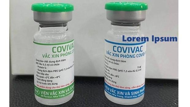 越南新冠疫苗Covivac完成一期临床试验 hinh anh 1