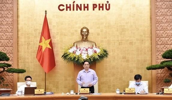 范明政总理:完善受疫情影响劳动者和企业扶持政策 努力做到全覆盖、不遗漏 hinh anh 1