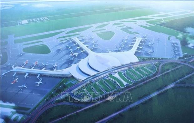 越南已确定隆城国际机场建设工程的竣工日期 hinh anh 1