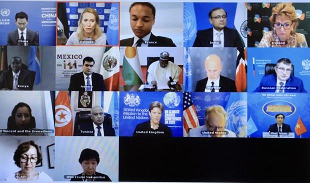 越南与联合国安理会:网络安全对各国和平、安全与繁荣发展具有关键性意义 hinh anh 2