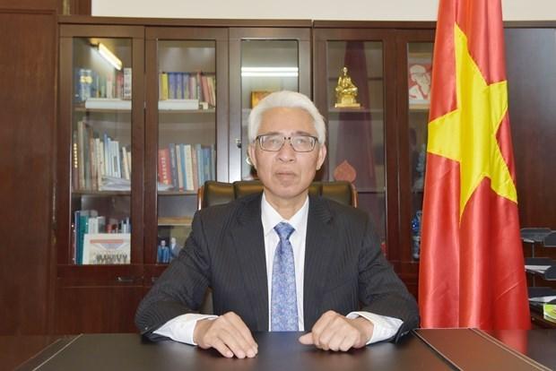 越南驻中国大使范星梅:受新冠肺炎疫情影响 越中关系依然保持良好的发展势头 hinh anh 1