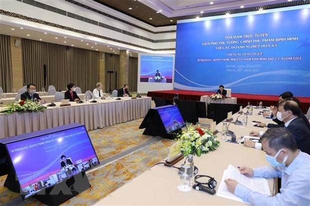 美国企业对促进越美两国经贸合作扮演重要的作用 hinh anh 2