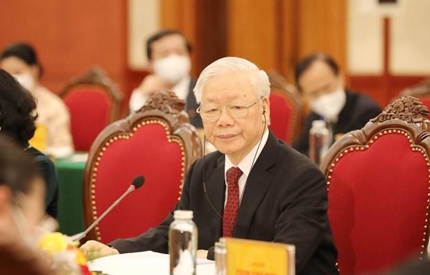 法越友好协会秘书长:阮富仲总书记的文章证明越南发展道路的正确选择 hinh anh 2