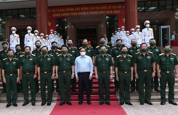 政府总理范明政:军队为国家的成就做出积极贡献 hinh anh 2